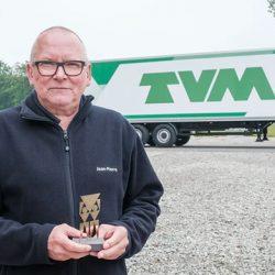 Jean-Pierre Mees van Van Dievel Transport is De Gouden Ridder van de Weg 2021